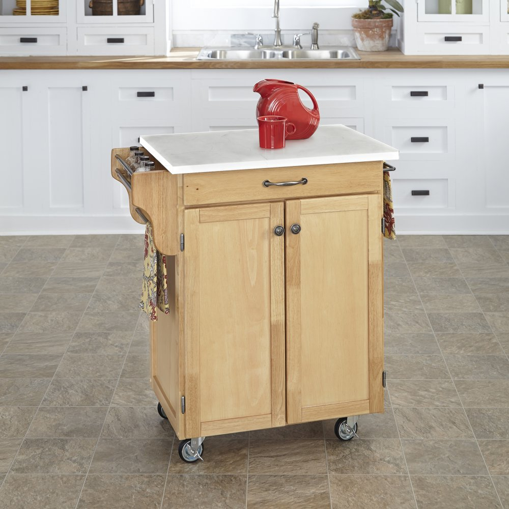 Cuisine Cart in Natural Finish 9001-0110