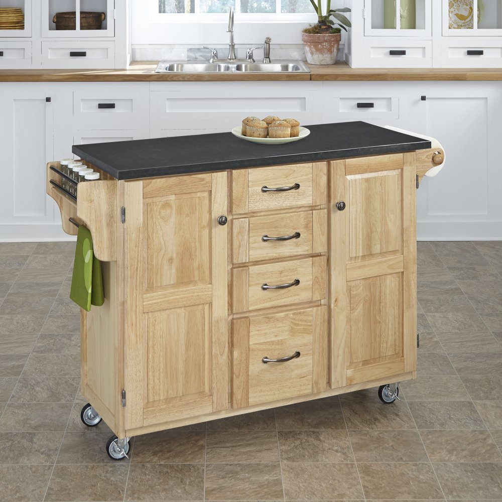 Create-a-Cart in Natural Finish 9100-0109
