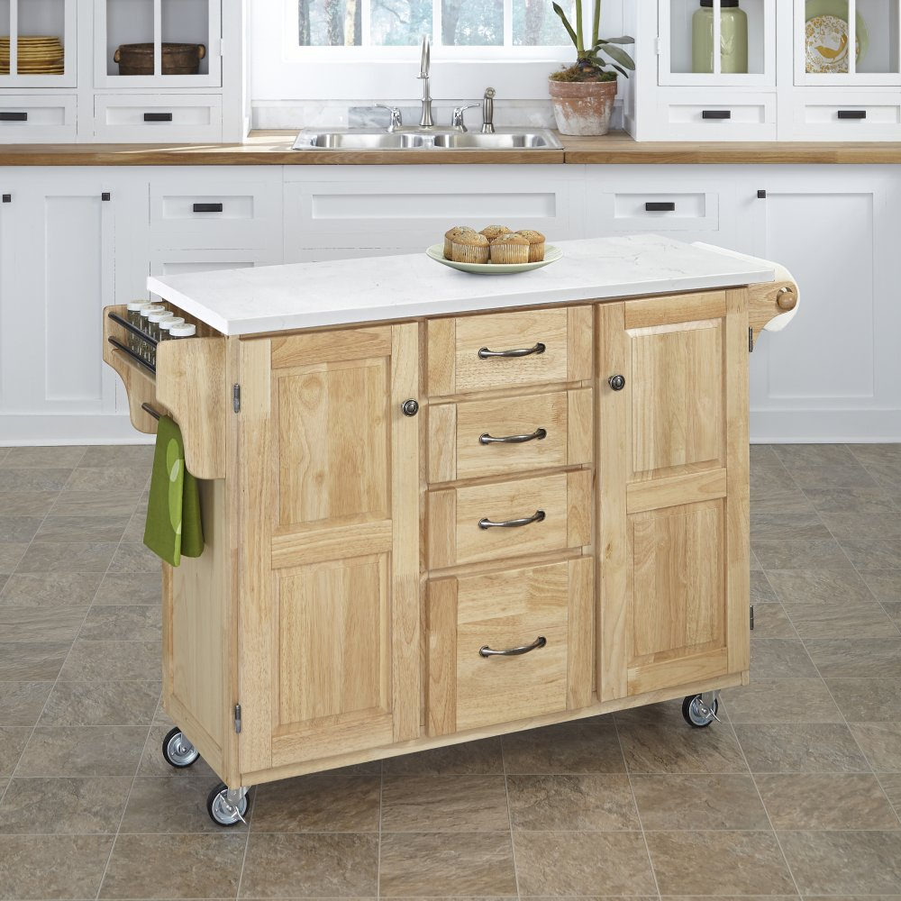 Create-a-Cart in Natural Finish 9100-0110