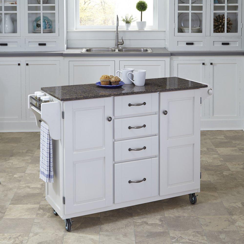 Create-a-Cart in White Finish 9100-0208