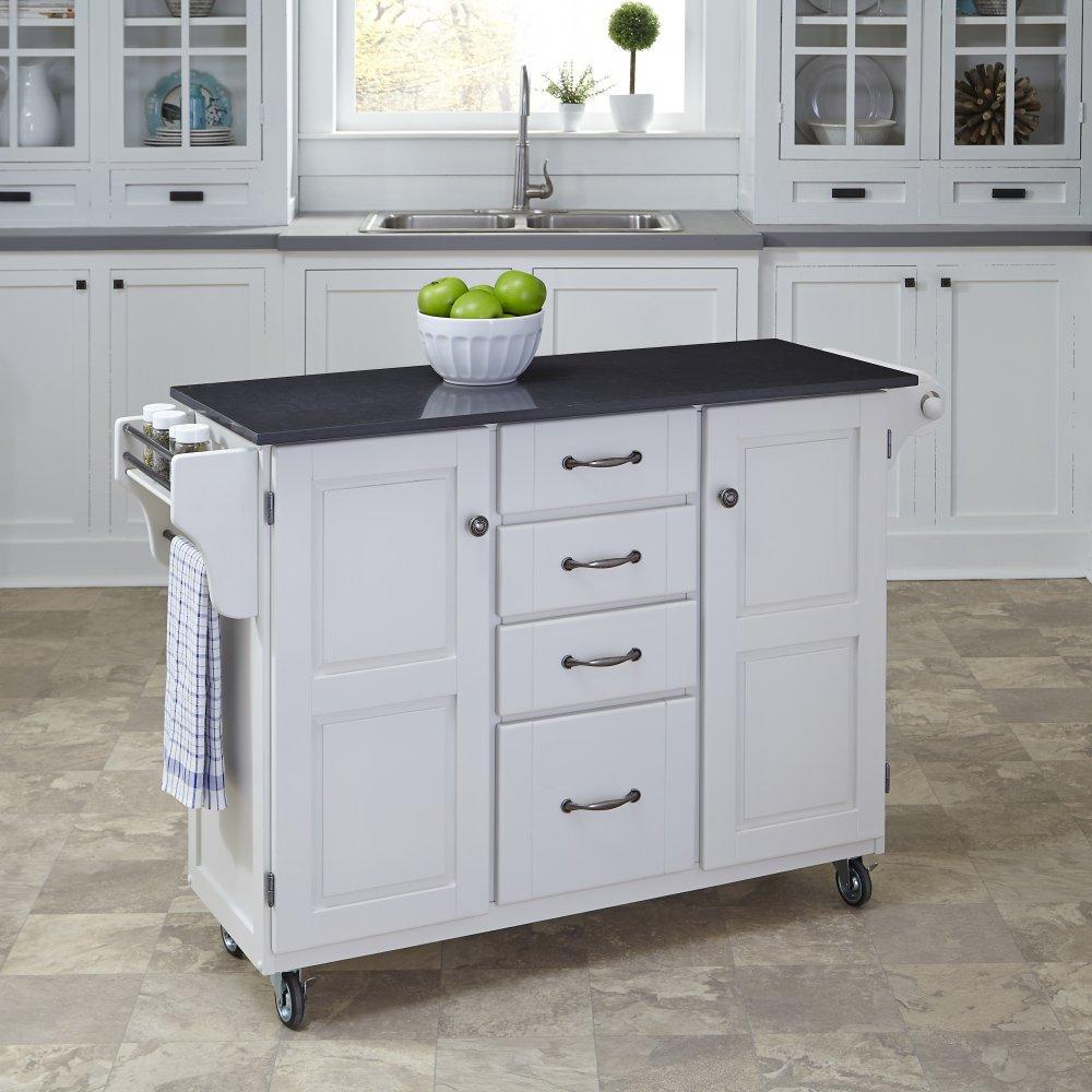 Create-a-Cart in White Finish 9100-0209