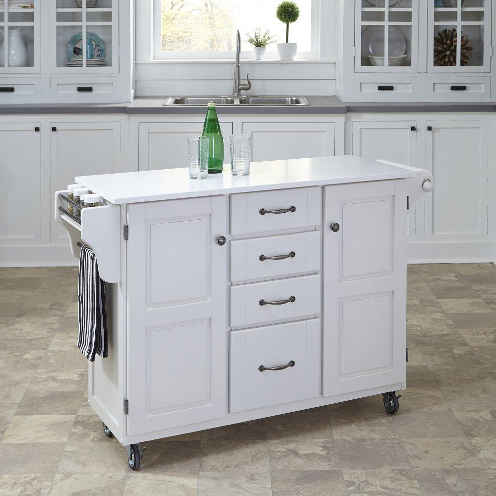 Create-a-Cart in White Finish 9100-0210