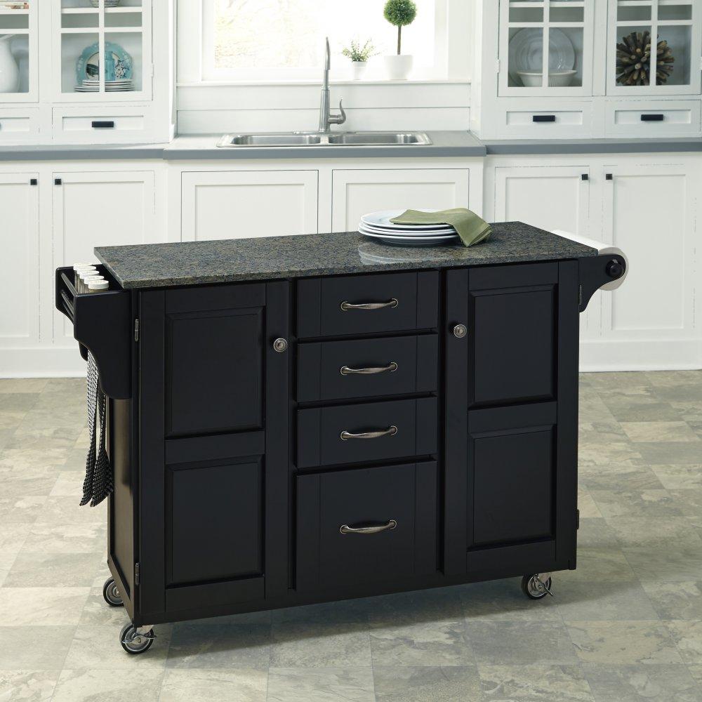 Create-a-Cart in Satin Black Finish 9100-0408