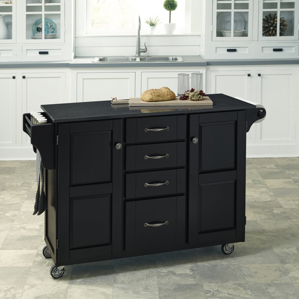Create-a-Cart in Satin Black Finish 9100-0409