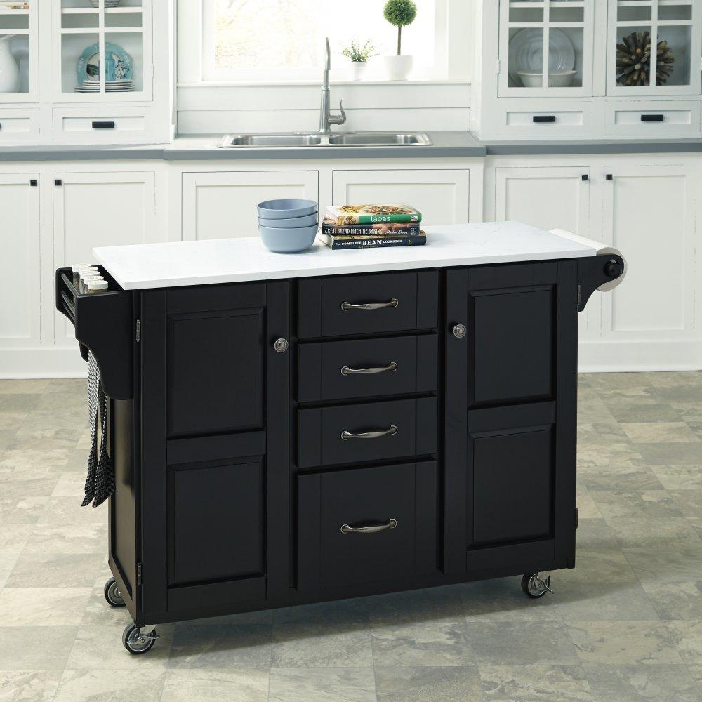 Create-a-Cart in Satin Black Finish 9100-0410