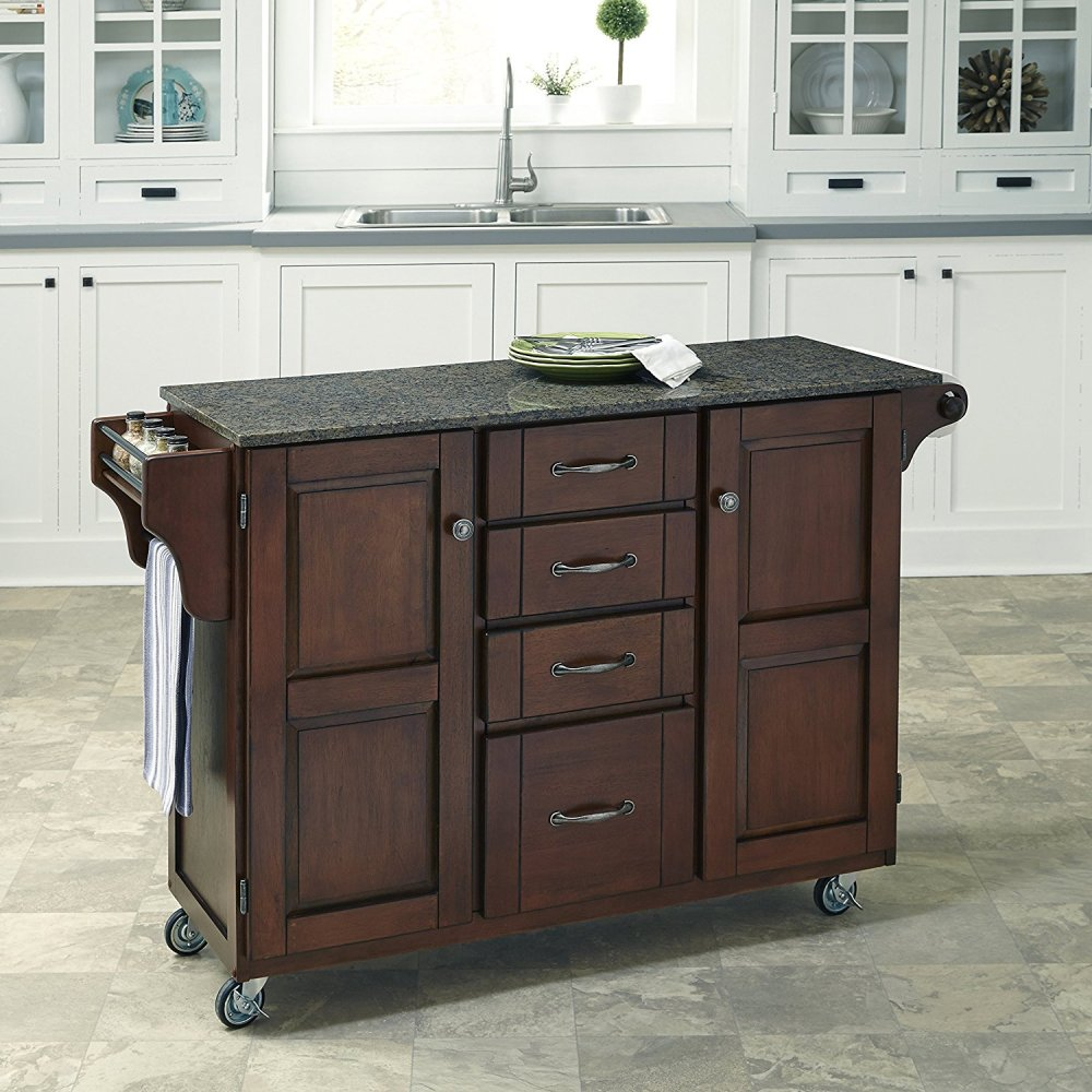 Create-a-Cart in Rustic Cherry Finish 9100-0708