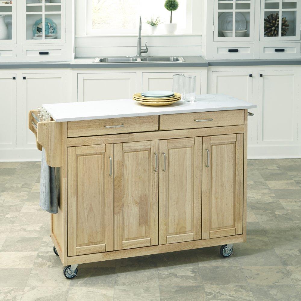 Create-a-Cart in Natural Finish 9100-10110