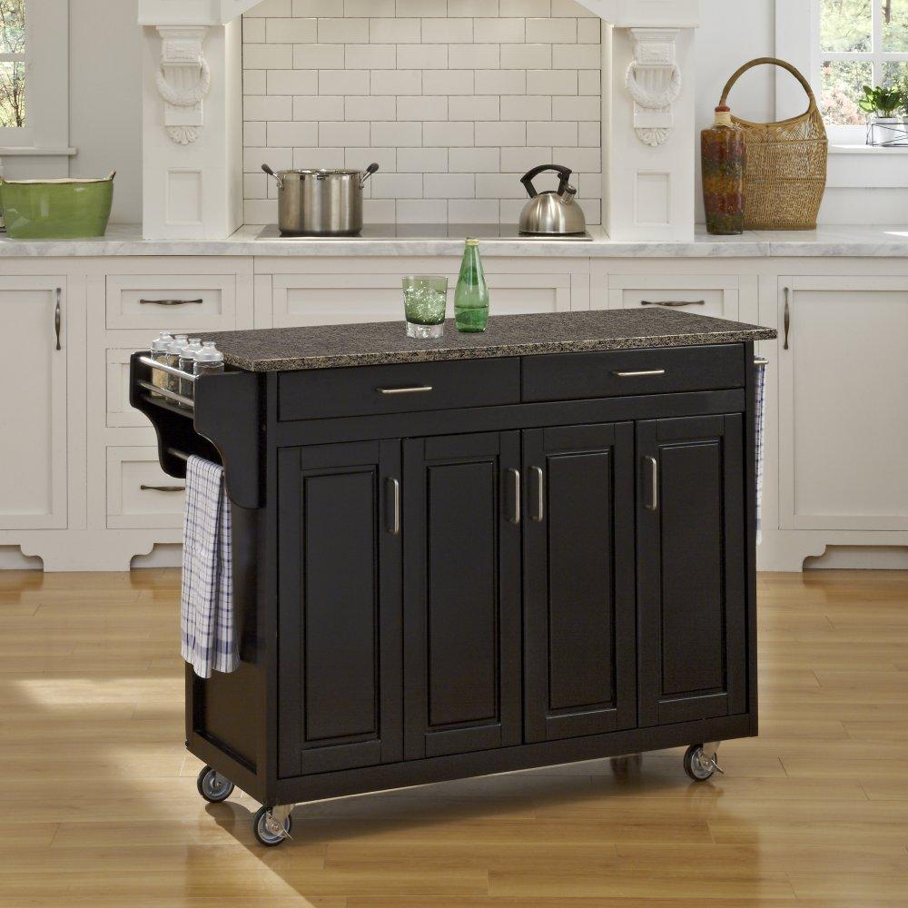 Create-a-Cart in Black Finish 9200-10408