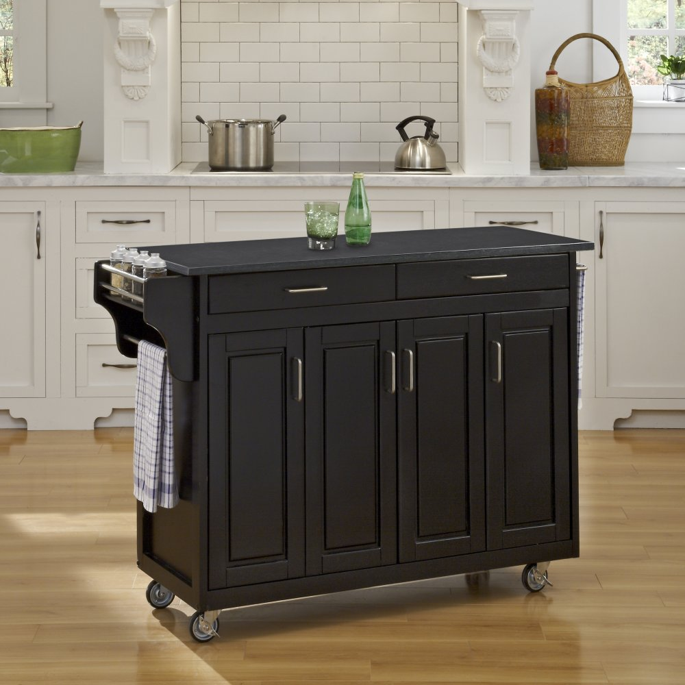 Create-a-Cart in Black Finish 9200-10409