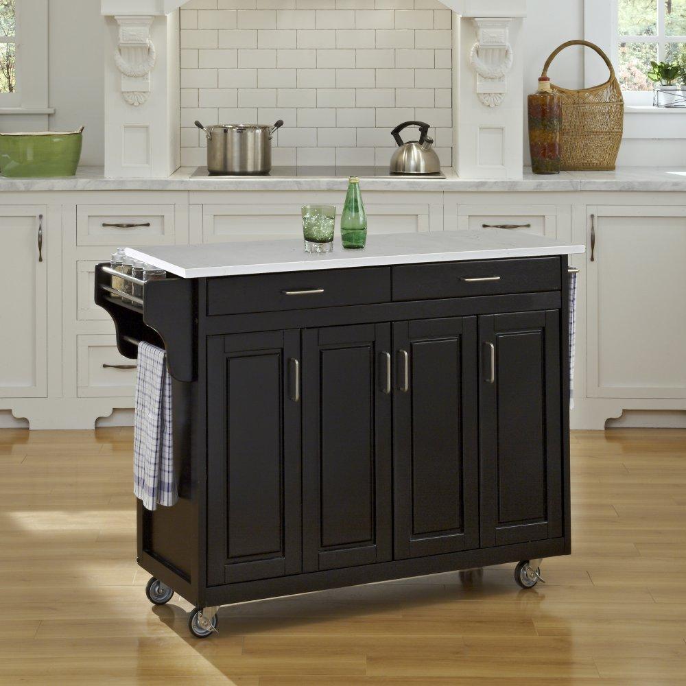 Create-a-Cart in Black Finish 9200-10410