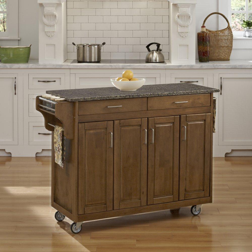 Create-a-Cart in Cottage Oak Finish 9200-10608