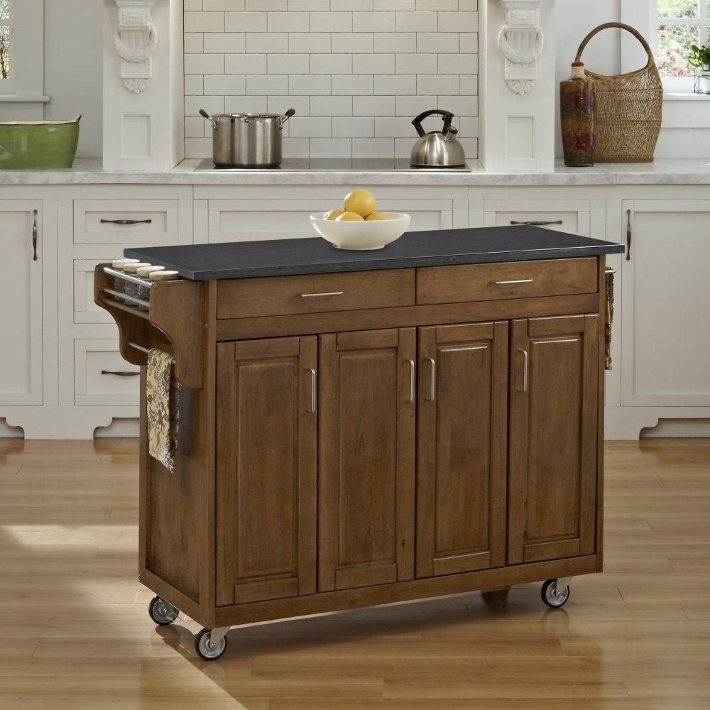 Create-a-Cart in Cottage Oak Finish 9200-10609
