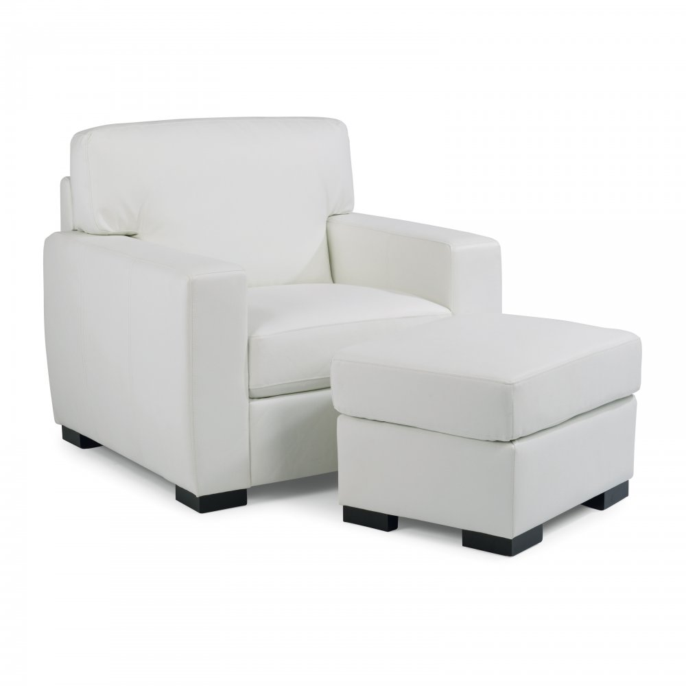 Erin Upholstered Chair 5221-10 shown with the Erin Upholstered Ottoman, sold separately